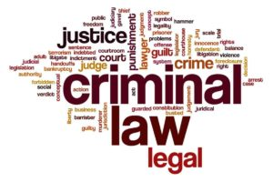 WORDS MATTER: Common Terms in Criminal Law